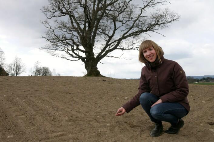 Eva Brod etterlyser strengare regelverk på fosforbruk i landbruket og oppdrettsnæringa. (Foto: Siri Elise Dybdal, NIBIO)
