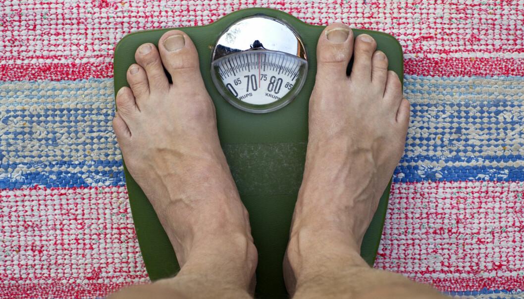 Det er ikke så bra for helsa å veie for lite eller for mye. Men hvilken vekt gir minst risiko for problemer?  (Foto: Bengt Olof Olsson / Bildhuset / NTB Scanpix)