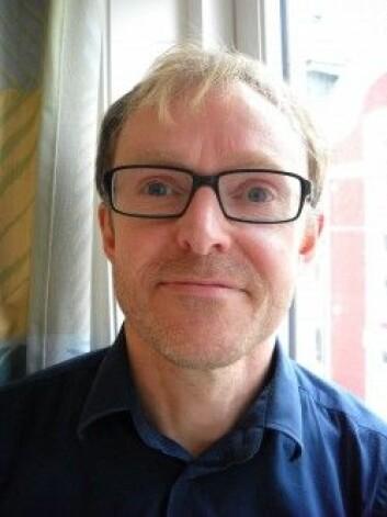 Svein Atle Skålevåg har skrevet bok om utilregnelighetens historie. (Foto: Siri Lindstad)