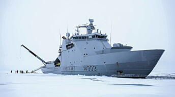 For første gang har et norsk skip nådd Nordpolen: Nå skal forskere måle temperaturen under isen
