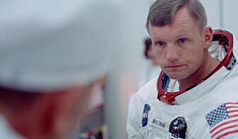 Dokumentaren viser de tre astronautene i timene før oppskytningen. Øverst: Edwin «Buzz» Aldrin, Michael Collins og Neil Armstrong. (Foto: Copyright © 2019 Moon Collectors LLC)