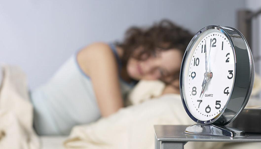 Folk sover ulikt, avhengig av alder, kjønn og hvor i verden de bor. (Foto: Colourbox)