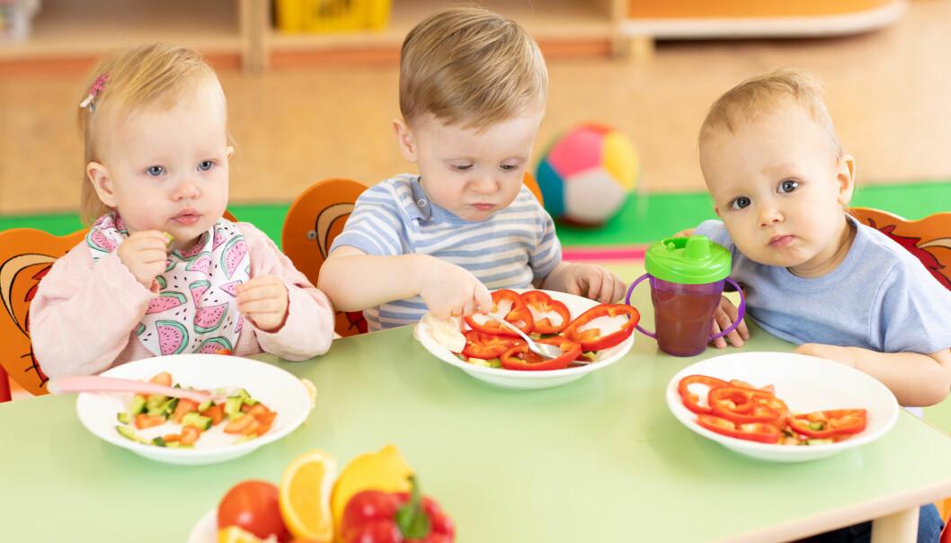 God stemning rundt matbordet kan redusere frykten for ukjent mat. (Illustrasjon: Oksana Kuzmina / Shutterstock / NTB scanpix)