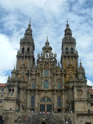 Målet: Katdralen i Santiago de Compostela. (Foto: Vasco Roxo, Wikimedia)