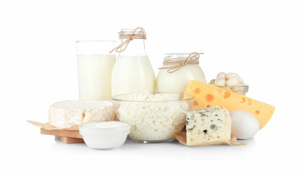 Fete versjoner av disse melkeproduktene er like sunne som magre, ifølge Heart Foundation i Australia. (Foto: Africa Studio / Shutterstock / NTB scanpix)