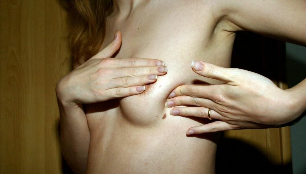 Hvis forskerne har rett i sitt anslag, er det 93 av menneskets rundt 20 000 gener som kan være i stand til å gjøre en vanlig brystcelle til en brystkreftcelle. (Foto: Colourbox)