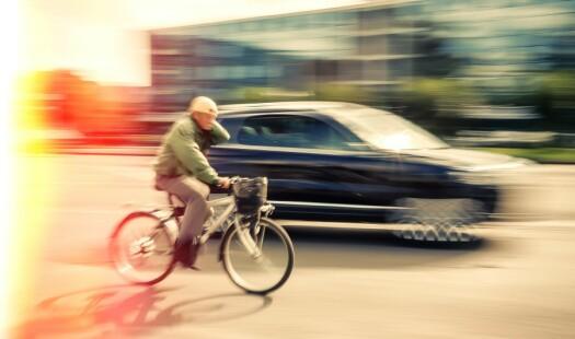 Er det avisenes feil at du er redd for å sykle?