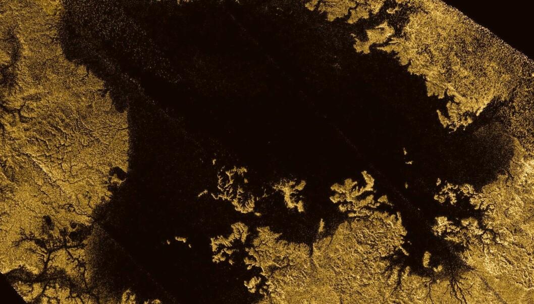 De første målingene av et hav utenfor jorda