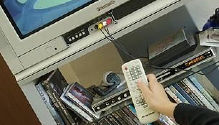 Remove TV from children's bedrooms