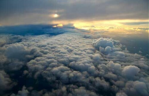 Warmer climate – fewer storms