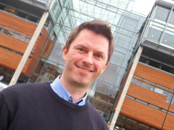 PhD student Erik Aadland has studied creative advertising business since 2000. (Photo: Audun Farbrot)