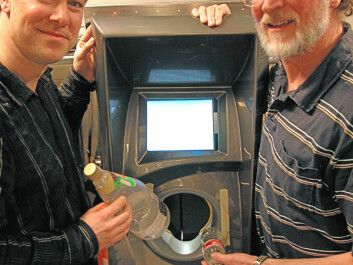 The reverse vending solutions company Tomra co-operates with dedicated industrial designers. (Photo: Are Wormnes)