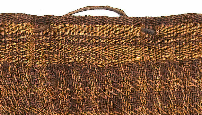 Dyed clothes came into fashion in early Iron Age