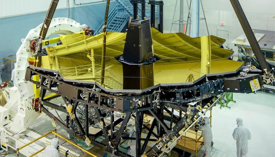 Verdens største romteleskop-speil er nesten ferdig