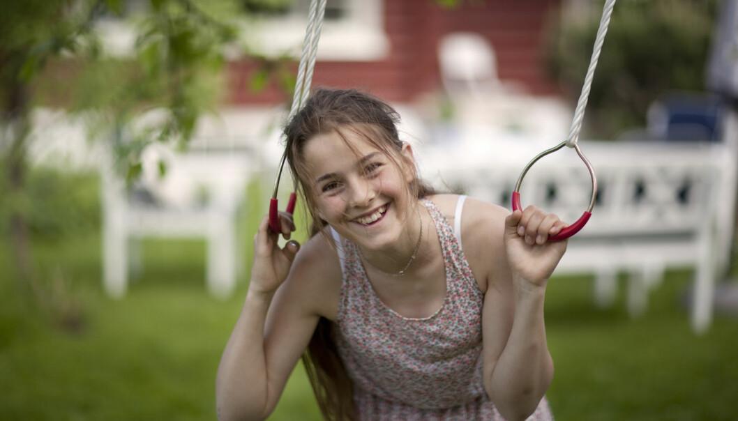 Barn med små hull mellom hjertekamrene bør ikke sykeliggjøres. De har ikke høyere dødelighet enn andre og kan være like fysisk aktive som andre barn, slår norske forskere fast. (Illustrasjonsfoto: Jonas Frøland,NTB Scanpix)
