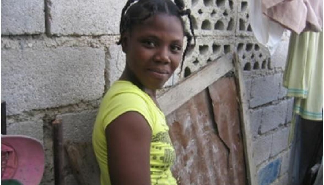 Woman in Haiti are still severly affected by the earthquake in 2010. (Photo: Kristin S. Scharffscher)