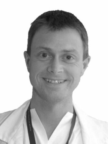 – Barn med mindre hull i hjerteskilleveggen bør ikke sykeliggjøres, sier overlege og forsker Jarle Jortveit ved Agder sykehus. (Foto: privat)