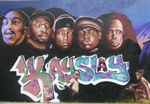Expressing faith through hip hop and grafitti