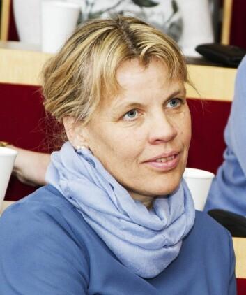 Førsteamanuensis Kari Ingstad ved Nord universitet. (Foto: (Foto Svein-Arnt Eriksen))