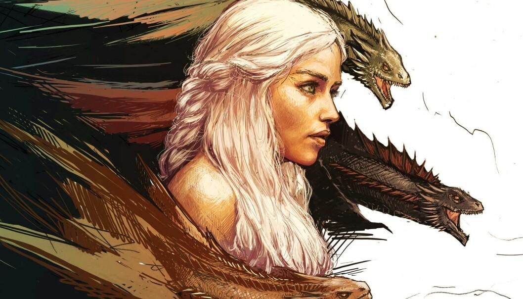 Ti forskere har tatt for seg fenomenet Game of Thrones i en ny bok. (Illustrasjon: Yama Orce)
