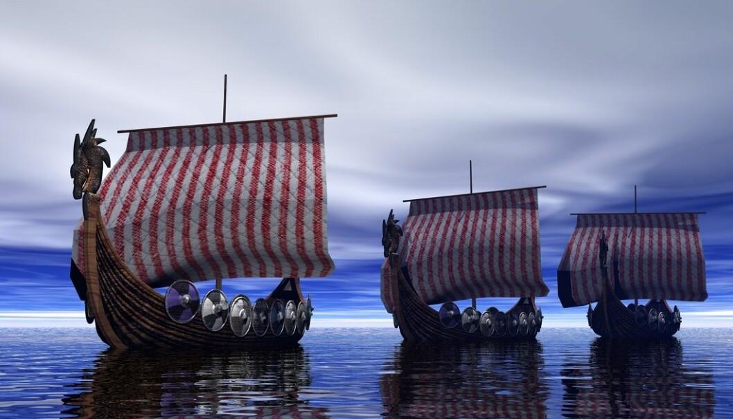 Hvorfor dro de ut i viking? Det håper forskerne nå å finne flere svar på. (Illustrasjon: Shutterstock / NTB Scanpix)