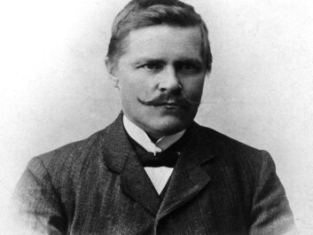 Anders Larsen founded, published and was editor of the Sami language newspaper Sagai Muitalægje (1904-1911). (Photo: Unknown. Tromsø Museum - the University Museum)