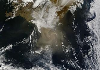 Volcanic ash data saves European air traffic