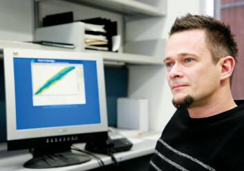 Gaute Hagen (på bildet), Gustav Jansen og Andreas Ekström, tidligere på UiO og nå forskere ved Oak Ridge National Lab i USA har vært svært involvert i beregningene av atomkjernens størrelse. (Foto: Michigan State University.)