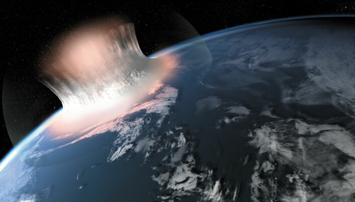 Remains of gigantic meteorite crater found in Greenland