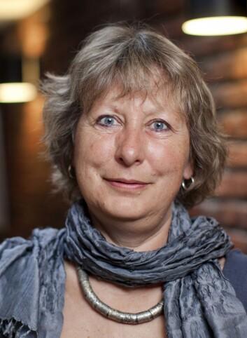 Forsker Hilde Lidén mener miljøarbeiderne trenger mer trening i å løsrive seg fra skjemaene. (Foto: Institutt for samfunnsforskning)