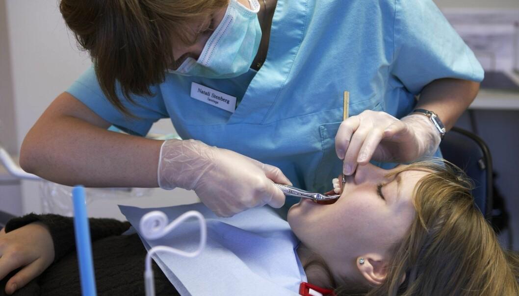 EMD-molekylet har lenge vært i bruk hos tannlegen, men forskerne ser for seg at det vil komme pasienter med kroniske sår til gode.  (Foto: Kerstin Mertens, Samfoto, NTB scanpix)