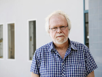 """""""Stock trading robots in themselves are nothing new. They have been used for years to carry our routine tasks that machines can do more efficiently than people can. What's new is the speed involved, which has increased hugely in the last few years,"""" says Terje Lensberg. (Photo: Helge Skodvin)"""
