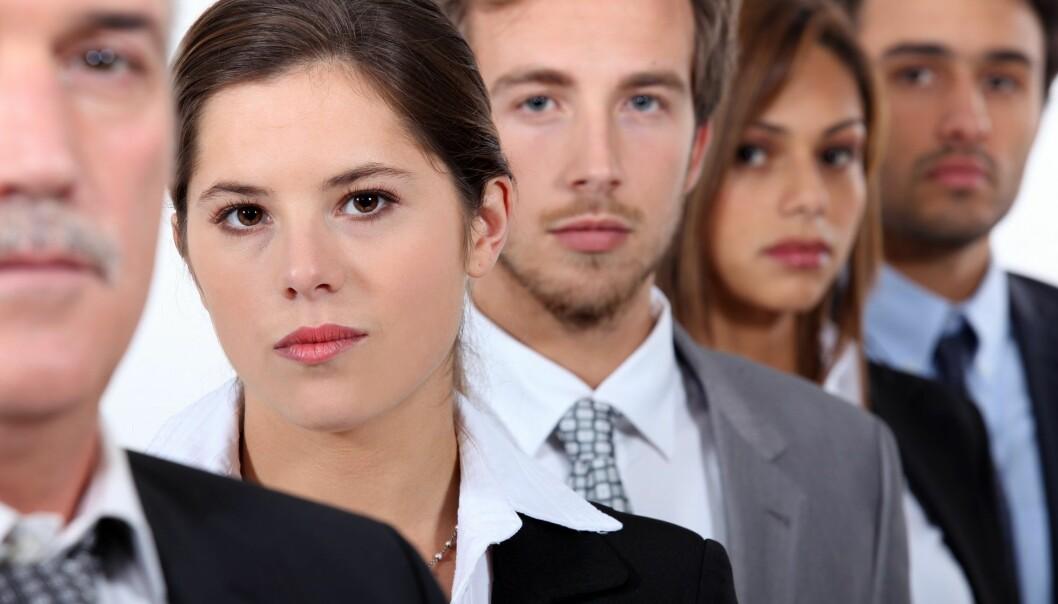 Er arbeidsplassen raus og inkluderende eller urettferdig og diskriminerende? Det er avhengig av øyet som ser. (Illustrasjonsfoto: Colourbox)