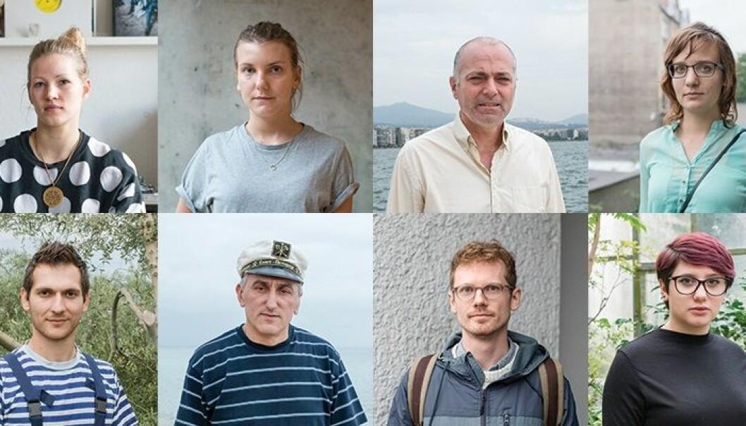 Europeere ønsker å flytte til Norge for å få mer tid til å kombinere karriere og familieliv. Her ser du noen av deltakerne fra studien. (Foto: Foto: Hilde Honerud / Øvelser i norsk)