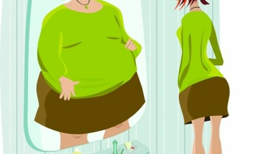 One in five girls think they are fat. (Photo: Photos.com)