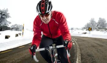 Temperaturen på huden sier lite om hvor hardt du sykler