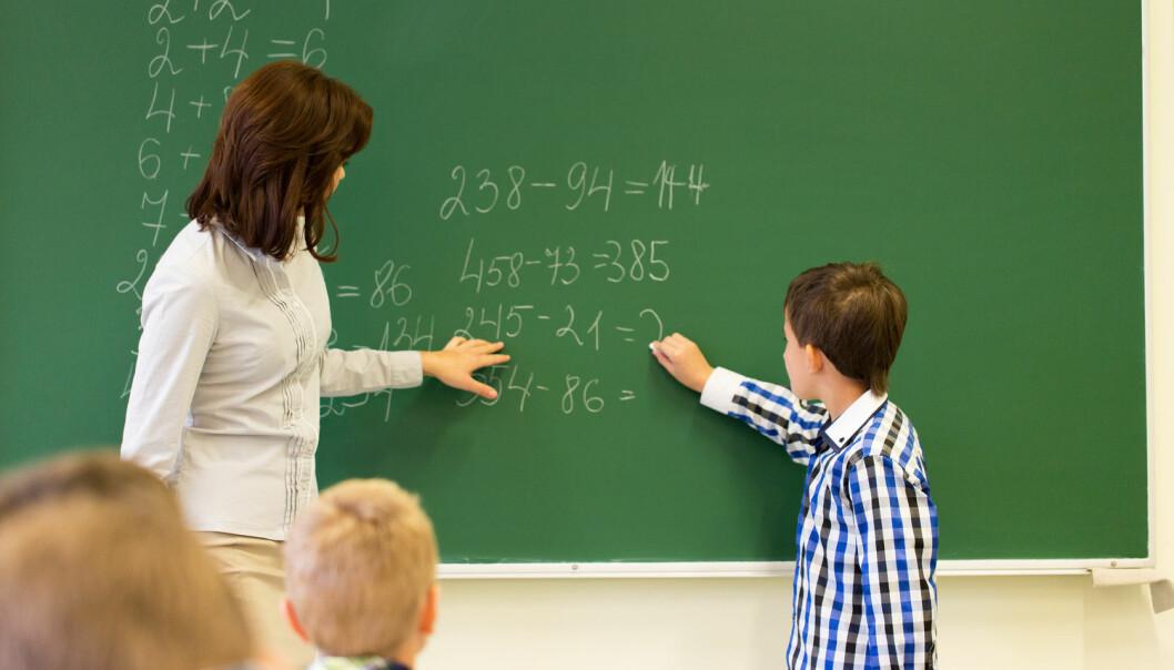 Matematikklærere må forstå hvordan elevene tenker, slik at de kan gi dem en best mulig tilbakemelding for å støtte elevenes videre læring, ifølge utdanningsforskere. (Foto: Syda Productions, Shutterstock, NTB scanpix)