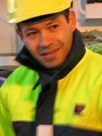 Eduardo Grimaldo jobber for SINTEF og er prosjektleder. (Foto: SINTEF.)