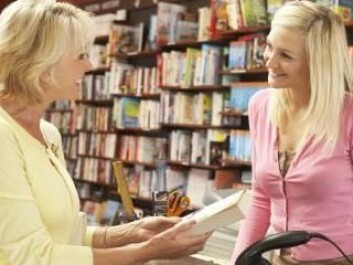 Sellers wish to build good relationships with customers. (Photo: Colourbox)
