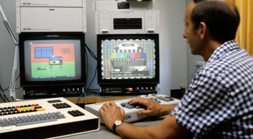 Tekst-TV for pensjonister og kunstnere