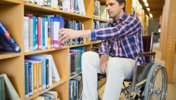Utdanning og egen selvtillit er viktig for å få funksjonshemmede ut i jobb.  (Ilustrasjonsfoto: wavebreakmedia / Shutterstock / NTB scanpix)