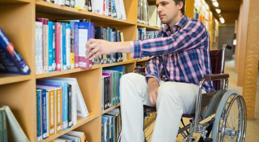 Høyere utdanning får folk med funksjonshemning ut i arbeid