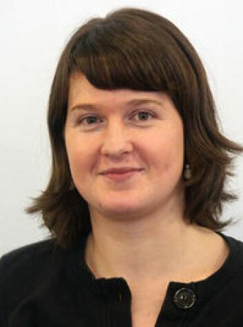 Helene R. Langehaug er oseanograf ved Nansensenteret for miljø og fjernmåling i Bergen. (Foto: Nersc)
