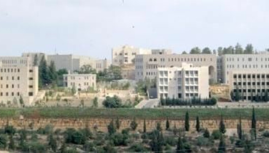 Birzeit University on the West Bank cooperates with several Norwegian partners (Photo: Hanna Kreitem / Wikimedia Commons)