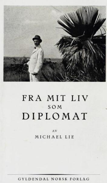 Det var ektemannen til Maggie Plahte, diplomaten Michael Lie, som utga brevene hennes i 1929. (Foto: Nasjonalbiblioteket)
