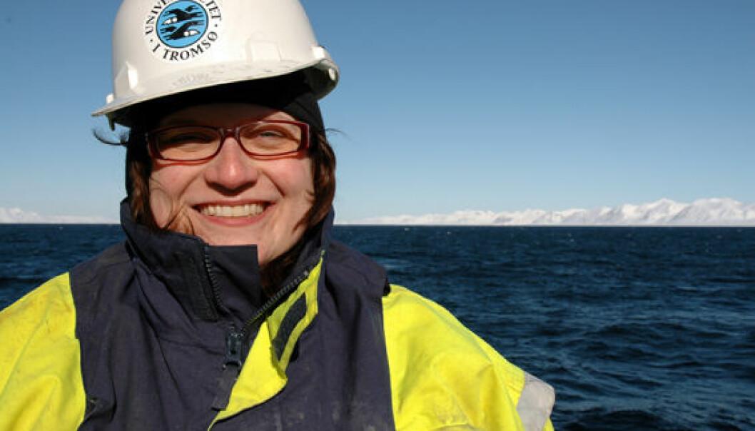 Marine geologist Katrine Husum. (Photo: UiT)