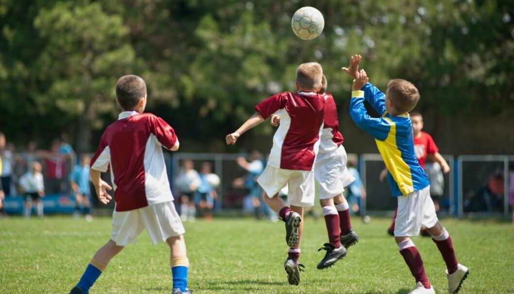 Elever får det bedre med fotball