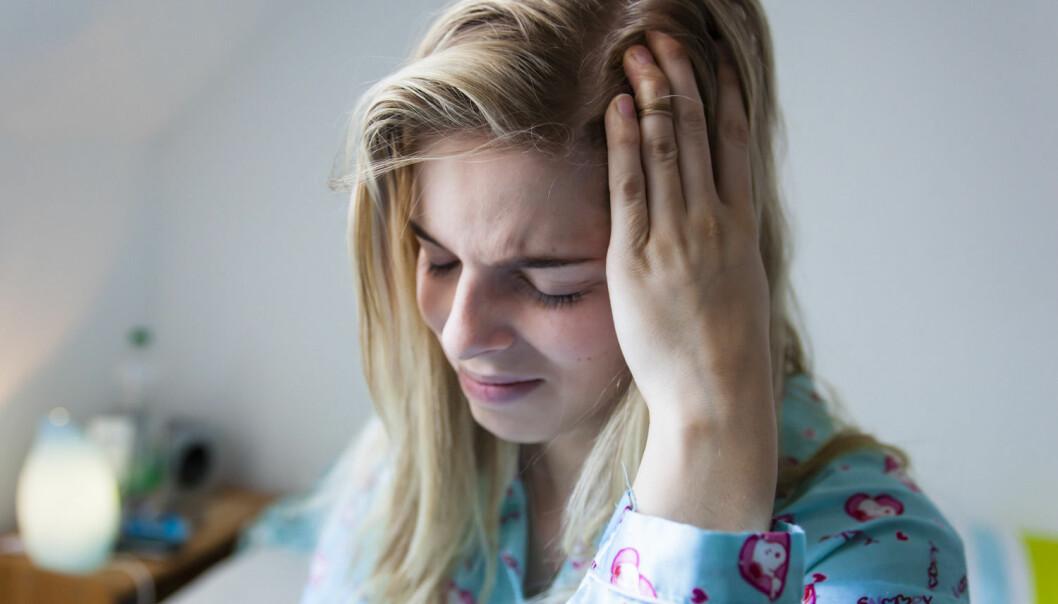 Ut fra det ungdommene i en studie forteller er de opplært av foreldrene – vanligvis mor, til å bruke smertestillende. Ungdommene har tilgang til medikamentene hjemme. (Foto: Mike Schröder, Samfoto, NTB scanpix)