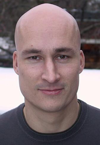 NOVA-forsker Thomas Hansen ved OsloMet