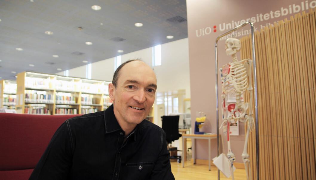 Bjørn Hofmann er professor i medisinsk filosofi ved NTNU på Gjøvik og har ledet studien sammen med Søren Holm ved Universitetet i Oslo. (Foto: Elin Fugelsnes)